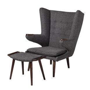 Papa Bear Wingback Chair