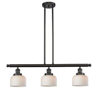 Modern 3 light pendant lighting allmodern beringer 3 light kitchen island pendant aloadofball Gallery