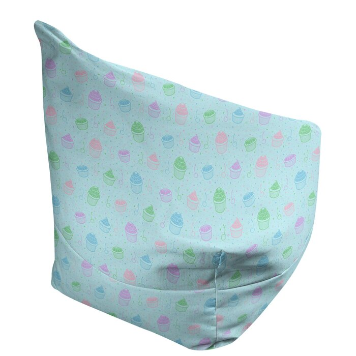 Cool Pastel Cupcake Bean Bag Machost Co Dining Chair Design Ideas Machostcouk