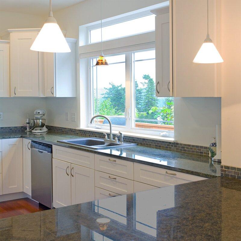 Ebern Designs Frits Kitchen Cabinet Scribe Molding 96x1x0 25 Espresso Wayfair