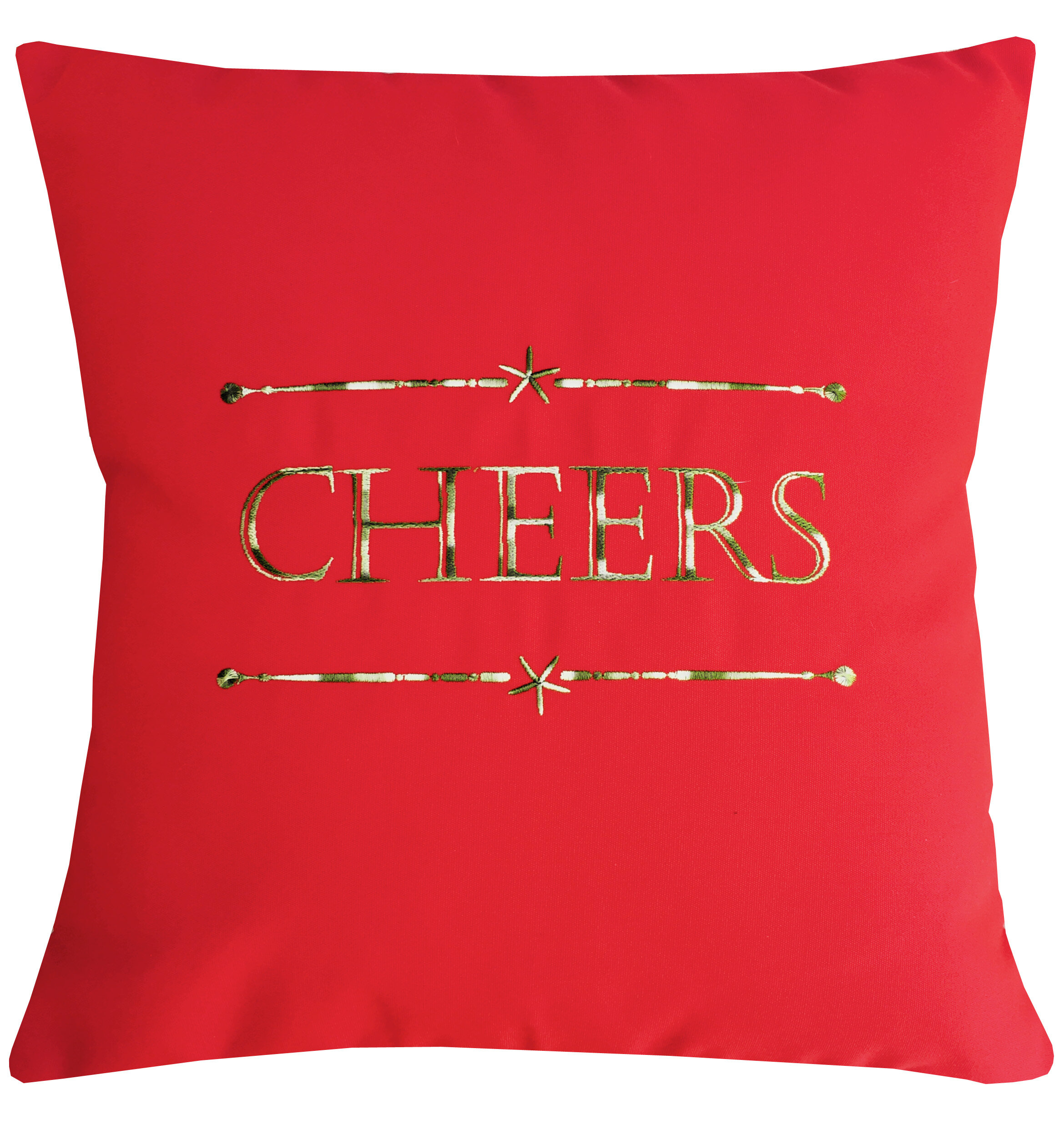 Nantucket Bound Holiday Cheers Indoor/Outdoor Sunbrella Throw ...