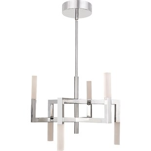 Orren Ellis Reinoso 6-Lights LED Chandelier