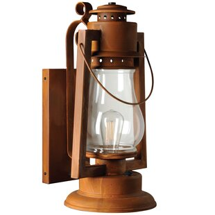 Pioneer Series 1-Light Outdoor Wall Lantern