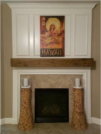 Midwood Designs Rustic Fireplace Mantel Shelf & Reviews   Wayfair