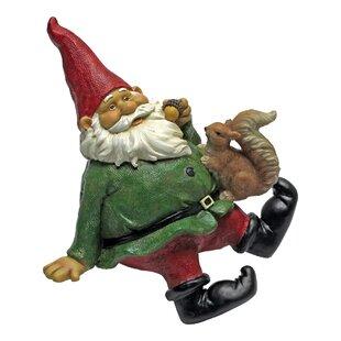 Statue Sitting Gnome Shelf Sitter Image