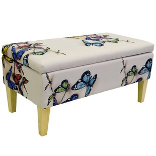 Giselle Cocktail Storage Ottoman By Mercury Row