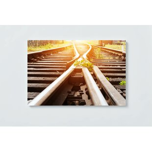 Rail Track Magnetic Wall Mounted Cork Board By Ebern Designs
