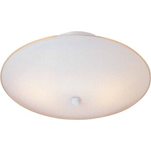 Volume Lighting 2-Light Ceiling Fixture Flush Mount