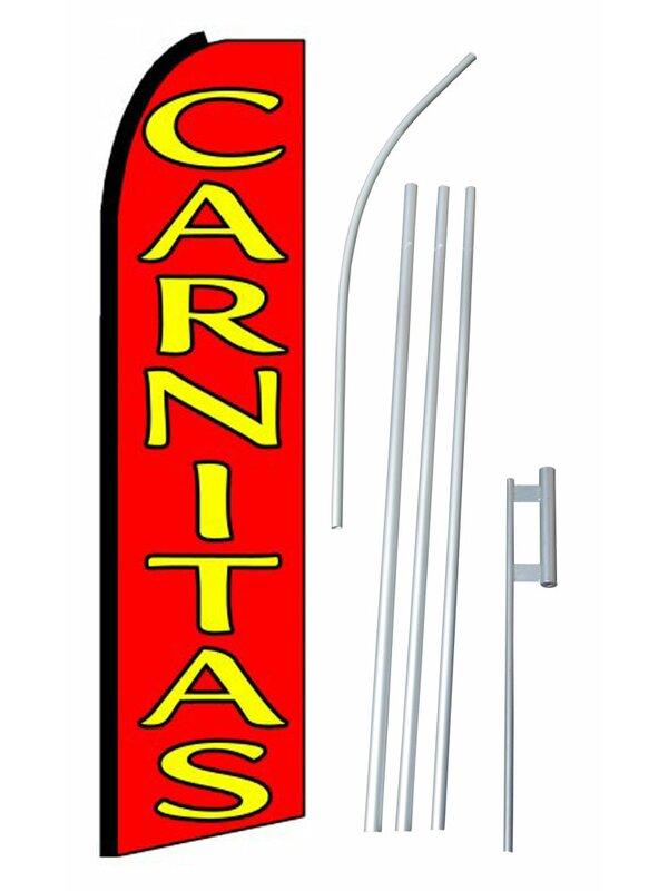 Neoplex Carnitas Polyester 180 X 30 In Flag Set Wayfair