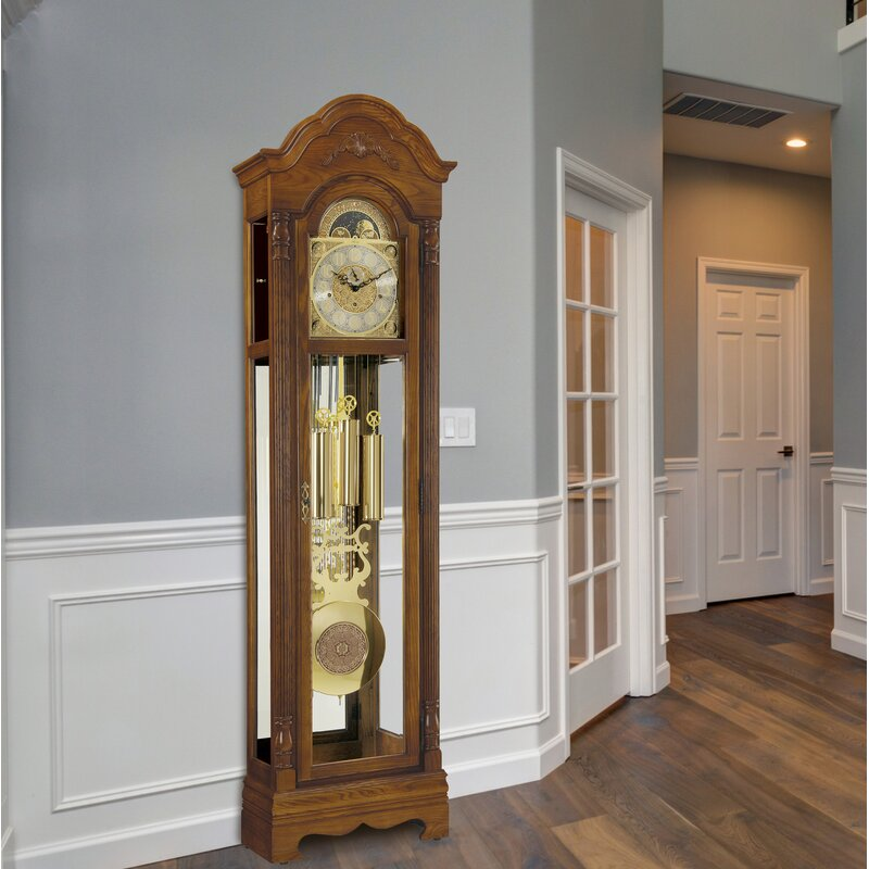 Howard Miller Kingsley 82 5 Grandfather Clock Wayfair