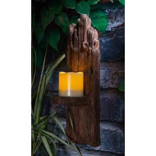 Hyman LED Solar Outdoor Sconce By Sol 72 Outdoor