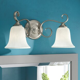 Fleur De Lis Living Patricia 2-Light Vanity Light