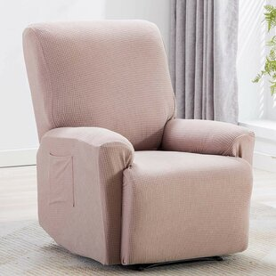 Box Cushion Recliner Slipcover (Set Of 4) By Red Barrel Studio