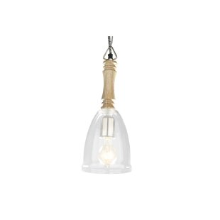 Radiant 1-Light Bowl Pendant by Foreign Affairs Home Decor