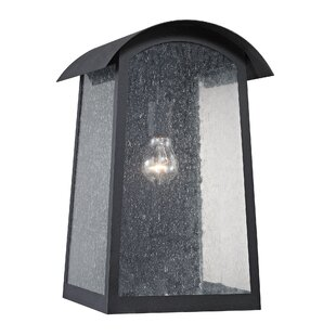 Brayden Studio Myrtle Avenue 1-Light Outdoor Flush mount