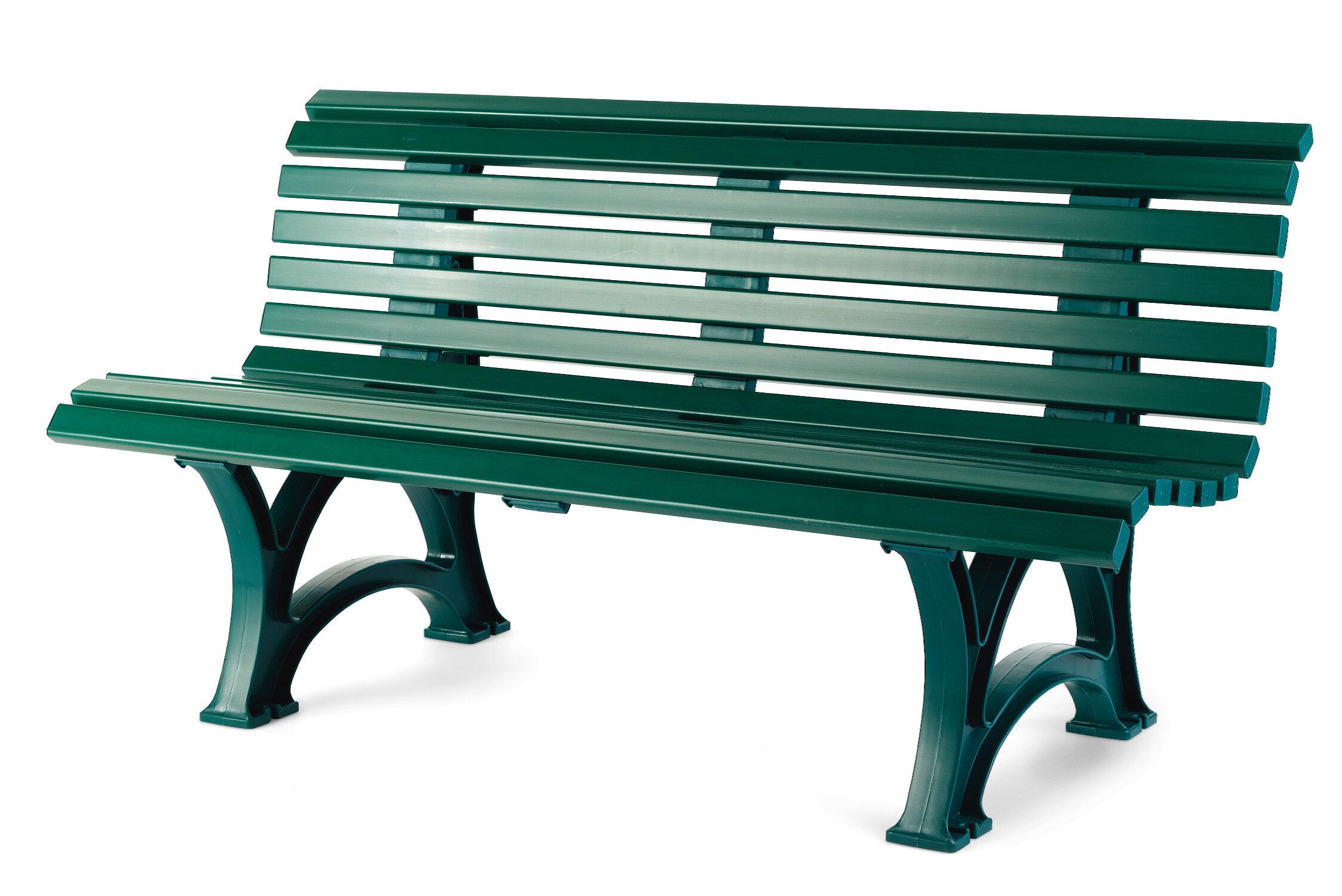Plow U0026 Hearth Weatherproof Resin Garden Bench U0026 Reviews | Wayfair