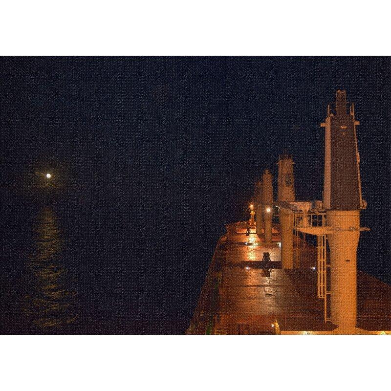 East Urban Home Ship Black Area Rug Wayfair