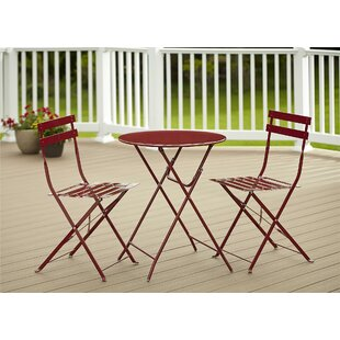 Coomes 3 Piece Bistro Set by Mercury Row