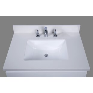 Thassos 31  Single Bathroom Vanity Top Tops You ll Love Wayfair