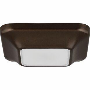 Ebern Designs Ayotte LED Outdoor Flush Mount