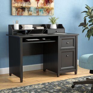 Lamantia 3 Drawer Computer Desk with Hutch