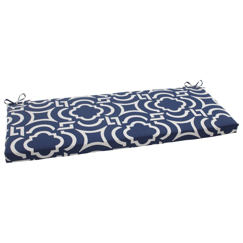 Geometric Outdoor Bench Cushion