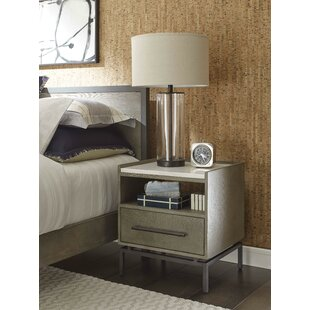 Ascher 1 Drawer Nightstand