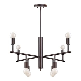 Wrought Studio Posey 8-Light Sputnik Chandelier