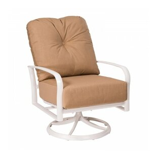 Woodard Fremont Swivel Rocking Patio Chair with Cushions