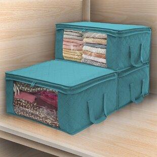 Teal Storage Bins Wayfair