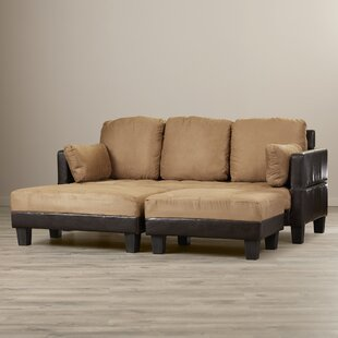 Cipriano Reversible Sectional with Ottoman by Winston Porter