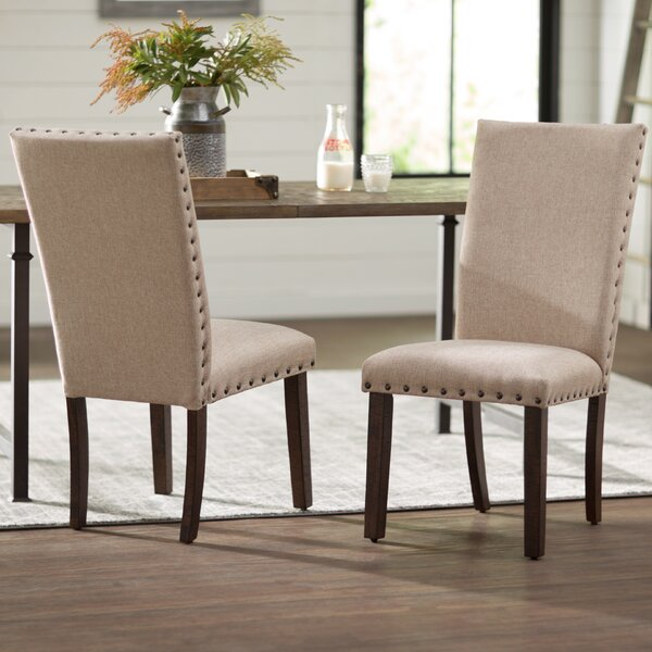 accent chairs for dining room clarity photographs | Three Posts Ismay Upholstered Dining Chair & Reviews | Wayfair