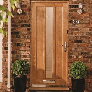 Lexington Manufactured Wood 1 Panel Unfinished Glazed External Door