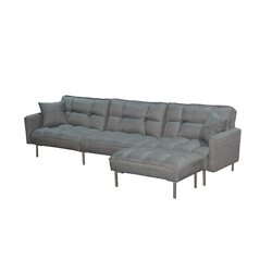 Ivy Bronx Besaw 109 Square Arm Sofa Bed Wayfair