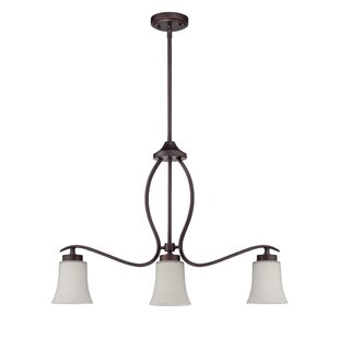 Red Barrel Studio Grampian 3-Light Shaded Chandelier