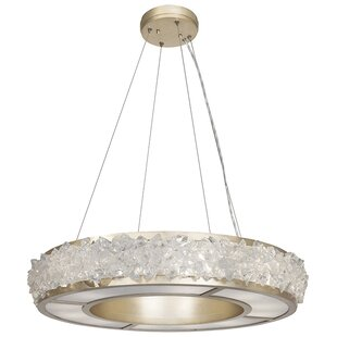 Fine Art Lamps Arctic Halo 12-Light Crystal Chandelier