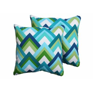 Resort Outdoor Throw Pillow (Set of 2)
