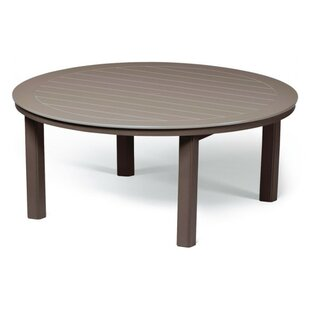 Compare prices Marine Grade Polymer 54 Round Chat Table By Telescope Casual