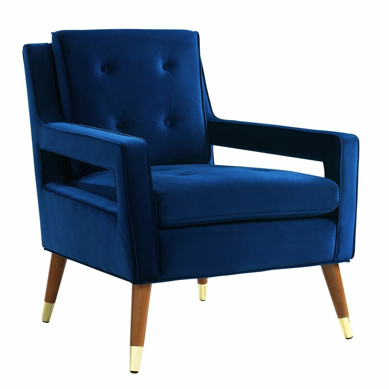 Delicieux Alverstone Velvet Armchair