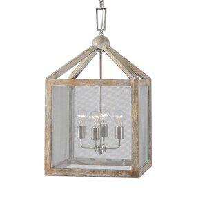 Faustine 4-Light Foyer Lantern Pendant