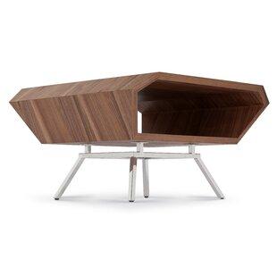 Synthia Square Coffee Table by Orren Ellis