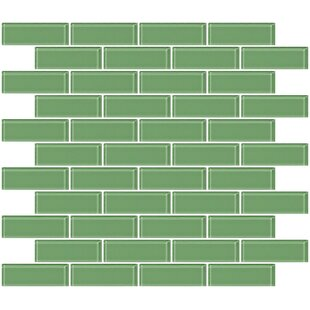 1 X 3 Gl Subway Tile In Mint Green