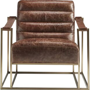 Lazzaro Leather Ames Sling Armchair