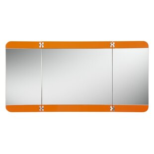 Fresca Energia 3 Panel Bathroom/Vanity Mirror