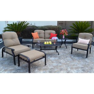 Kristy 6 Piece Sunbrella Sofa Set With Cushions by Darby Home Co Wonderful