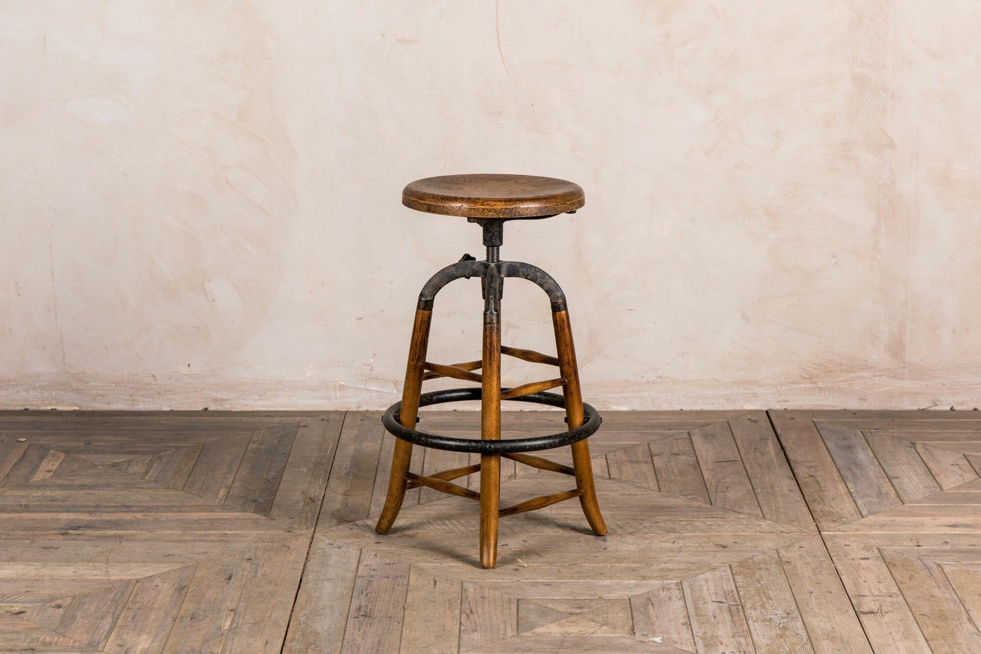 Admirable Hadrian Height Adjustable Swivel Bar Stool Frankydiablos Diy Chair Ideas Frankydiabloscom