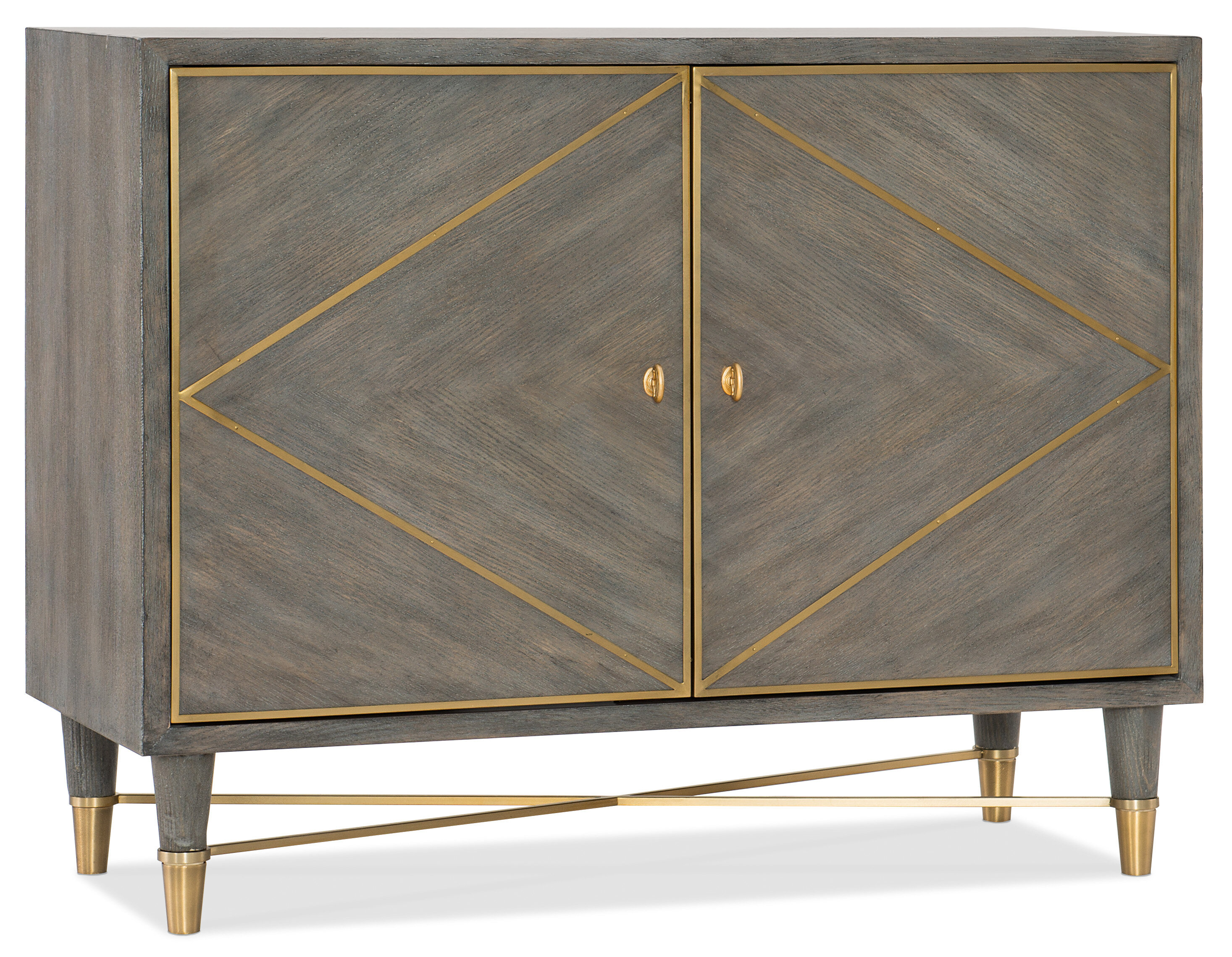 Hooker Furniture Melange 2 Door Accent Cabinet & Reviews | Wayfair