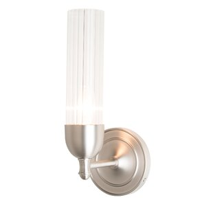 Fluted 1-Light Bath Sconce by ..