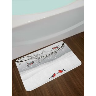 Winter Season Winter Bath Rug