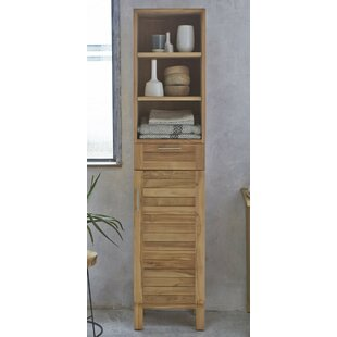 40 X 180cm Free Standing Tall Bathroom Cabinet ...
